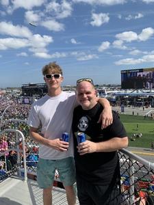 Robert attended 61st Annual Monster Energy Daytona 500 - NASCAR Cup Series on Feb 17th 2019 via VetTix