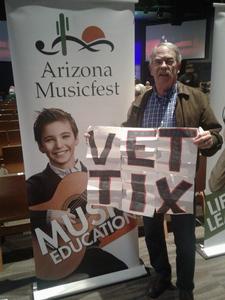 michael colacarro jr attended The Ruth Moody Band on Feb 12th 2019 via VetTix