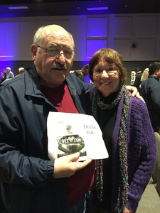 Dennis attended The Ruth Moody Band on Feb 12th 2019 via VetTix