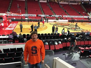 chad attended NC State Wolfpack vs. Syracuse - NCAA Men's Basketball on Feb 13th 2019 via VetTix