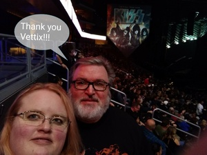 Alan attended Kiss: End of the Road World Tour on Feb 13th 2019 via VetTix