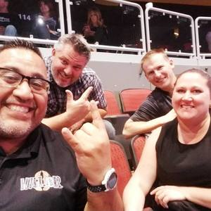 RO attended Kiss: End of the Road World Tour on Feb 13th 2019 via VetTix