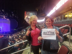 Sharon attended Kiss: End of the Road World Tour on Feb 13th 2019 via VetTix