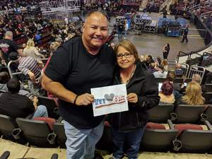rickey attended Kiss: End of the Road World Tour on Feb 13th 2019 via VetTix