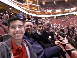 Pedro attended Kiss: End of the Road World Tour on Feb 13th 2019 via VetTix