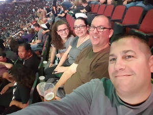 Justin attended Kiss: End of the Road World Tour on Feb 13th 2019 via VetTix