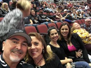 Ashley attended Kiss: End of the Road World Tour on Feb 13th 2019 via VetTix