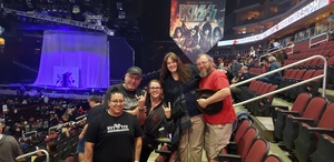 Casey attended Kiss: End of the Road World Tour on Feb 13th 2019 via VetTix