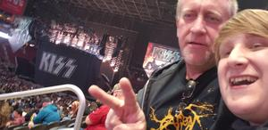 Michael Bradley attended Kiss: End of the Road World Tour on Feb 13th 2019 via VetTix