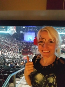 LovelyLady attended Kiss: End of the Road World Tour on Feb 13th 2019 via VetTix