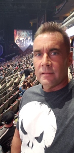 William attended Kiss: End of the Road World Tour on Feb 13th 2019 via VetTix