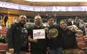 Marcos attended Kiss: End of the Road World Tour on Feb 13th 2019 via VetTix