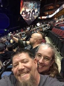 Jason attended Kiss: End of the Road World Tour on Feb 13th 2019 via VetTix