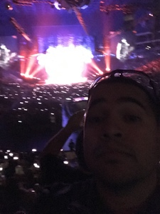 Raymond attended Kiss: End of the Road World Tour on Feb 13th 2019 via VetTix
