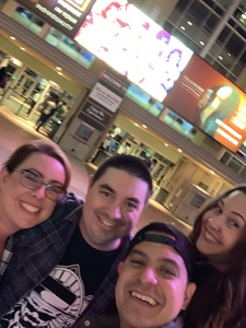 Paul attended Kiss: End of the Road World Tour on Feb 13th 2019 via VetTix