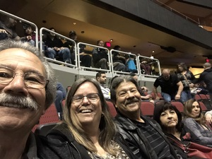 George attended Kiss: End of the Road World Tour on Feb 13th 2019 via VetTix