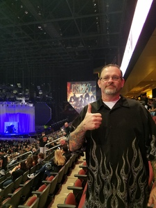 Dean attended Kiss: End of the Road World Tour on Feb 13th 2019 via VetTix