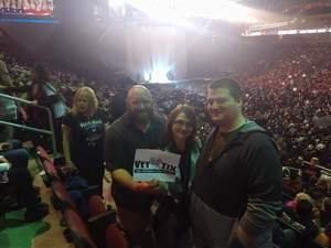 Dustin attended Kiss: End of the Road World Tour on Feb 13th 2019 via VetTix