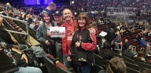 Kenneth attended Kiss: End of the Road World Tour on Feb 13th 2019 via VetTix