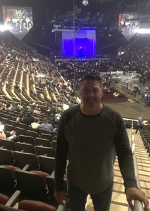 Dennis attended Kiss: End of the Road World Tour on Feb 13th 2019 via VetTix