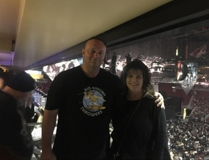 Tim attended Kiss: End of the Road World Tour on Feb 13th 2019 via VetTix