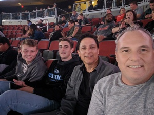 Mikel attended Kiss: End of the Road World Tour on Feb 13th 2019 via VetTix