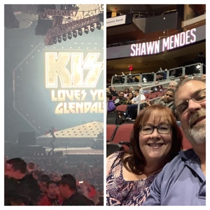 Tony attended Kiss: End of the Road World Tour on Feb 13th 2019 via VetTix