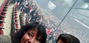 Ricky attended Kiss: End of the Road World Tour on Feb 13th 2019 via VetTix