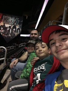 Matthew attended Kiss: End of the Road World Tour on Feb 13th 2019 via VetTix