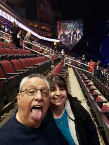 Carlos attended Kiss: End of the Road World Tour on Feb 13th 2019 via VetTix