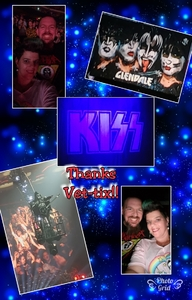 Ryan attended Kiss: End of the Road World Tour on Feb 13th 2019 via VetTix