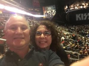 Jeff attended Kiss: End of the Road World Tour on Feb 13th 2019 via VetTix