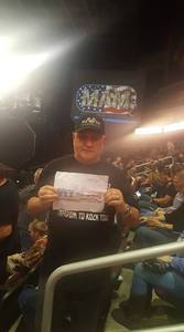 Dominick attended Kiss: End of the Road World Tour on Feb 13th 2019 via VetTix