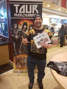 Rick attended Kiss: End of the Road World Tour on Feb 13th 2019 via VetTix