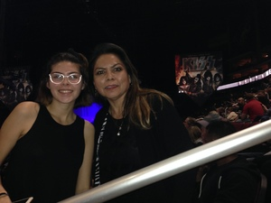 Janice attended Kiss: End of the Road World Tour on Feb 13th 2019 via VetTix