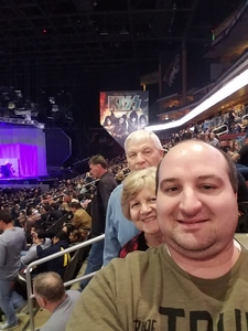 Larry attended Kiss: End of the Road World Tour on Feb 13th 2019 via VetTix