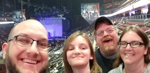 Jessica attended Kiss: End of the Road World Tour on Feb 13th 2019 via VetTix