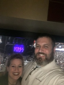 Chuck attended Kiss: End of the Road World Tour on Feb 13th 2019 via VetTix