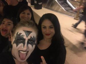 manuel attended Kiss: End of the Road World Tour on Feb 13th 2019 via VetTix