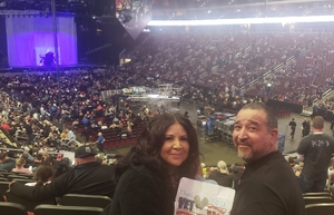 Richard attended Kiss: End of the Road World Tour on Feb 13th 2019 via VetTix