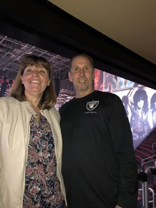 LuAnn attended Kiss: End of the Road World Tour on Feb 13th 2019 via VetTix