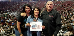 Feliz attended Kiss: End of the Road World Tour on Feb 13th 2019 via VetTix