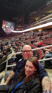 Dave attended Kiss: End of the Road World Tour on Feb 13th 2019 via VetTix
