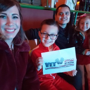 Will Calderon attended Disney's Dcappella on Feb 14th 2019 via VetTix