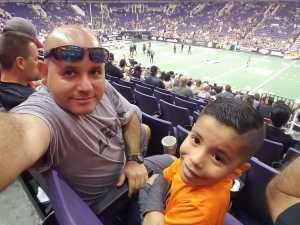 Luis attended Arizona Rattlers vs. Cedar Rapids River Kings - IFL on Mar 3rd 2019 via VetTix
