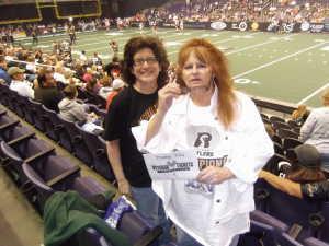 Amy attended Arizona Rattlers vs. Cedar Rapids River Kings - IFL on Mar 3rd 2019 via VetTix