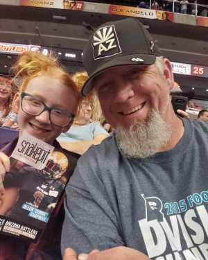 Richie attended Arizona Rattlers vs. Cedar Rapids River Kings - IFL on Mar 3rd 2019 via VetTix