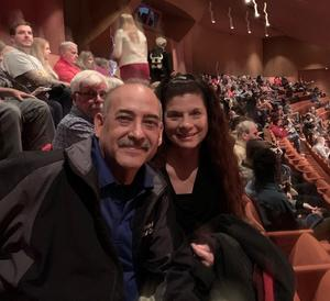 Troy attended Disney's Aladdin - the Hit Broadway Musical - ASU Gammage on Feb 12th 2019 via VetTix