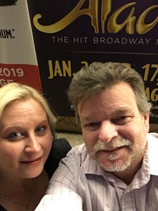 Chris attended Disney's Aladdin - the Hit Broadway Musical - ASU Gammage on Feb 12th 2019 via VetTix