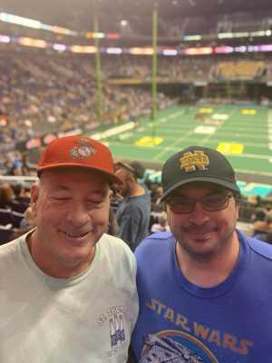Mitch attended Arizona Rattlers vs. Sioux Falls Storm - IFL on Mar 31st 2019 via VetTix